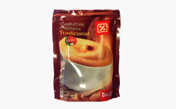Cappuccino Doypack 125 g.